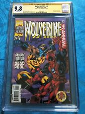 Wolverine 1999 #nn - Marvel - CGC SS 9.8 NM/MT - Signed by Andreyko - Deadpool