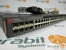 Brocade Ruckus ICX6610-48P-PE 48 port 1G RJ45 PoE+, plus 8 x 1G SFPP Dual RPS16