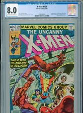1980 MARVEL UNCANNY X-MEN #129 1ST KITTY PRYDE EMMA FROST CGC 8.0 NEWSSTAND UPC