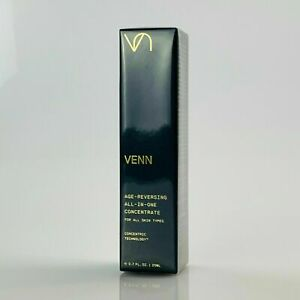 VENN Age Reversing ALL-IN-ONE Concentrate 0.7 oz 20ml Full size Sealed Box Fresh