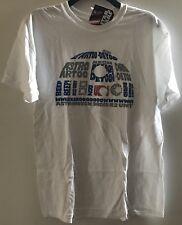 Star Wars R2-D2 Large Men's White T Shirt New Official