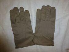 Vintage Military Dress Gloves Nylon Knit Navy Shade Grey Men's Sz 12 New