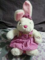 NWP Dan Dee Vintage Bunny Rabbit Easter Plush Animated Musical Peter Cottontail