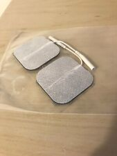 TENS Machine Pads 5x5cm 2mm Plug Self Adhesive Electrodes Replacement