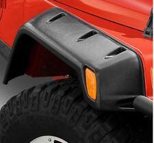 """Jeep Wrangler YJ 6"""" Textured Black Fender Flare Kit 1987-1995 Smittybilt 17191"""