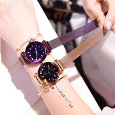 Nowsparkle™ Waterproof Starry Sky Girl Wristwatch Gold