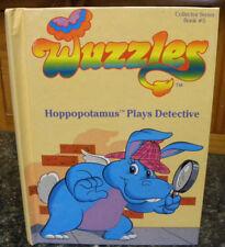 WUZZLES - HOPPOPOTAMUS PLAYS DETECTIVE - #5, HC, 1984 by Douglas Hutchinson