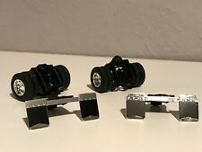 2 Dcp 1/64 Trailer Supports, Flaps & 10 Hole Bud Wheels & Axles