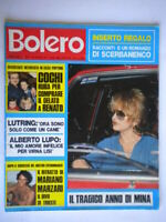 Bolero1577 Mina More Onassis Cochi Mal Rolling Stones Lutring Gastoni Marzari