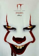 IT CHAPTER TWO Cinemark XD Exclusive Original Promo Movie Poster Stephen King