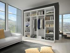 Modern Bedroom Wardrobe Sliding Door 233 Wide Perfect interior FREE DELIVERY*