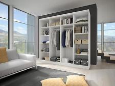 Modern Bedroom Wardrobe Sliding Door 233 Wide Perfect interior FREE DELIVERY*