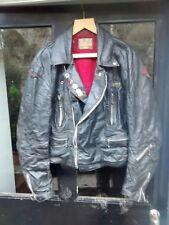 Vintage Lewis Veste en cuir taille 42 long