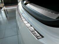 2015Up Mercedes GLE SUV C292 Chrome Rear Bumper Protector Scratch Guard S.Steel