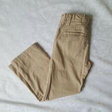 New listing Old Navy Boys Straight Droit Pants 7 Regular Khaki Beige School Uniform Trouser