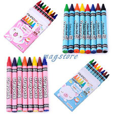 8x/Set Kinder Schreibset Schuleset Spielzeug Malerei Buntstifte Crayons Crayola