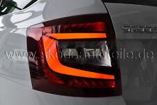 LED Rückleuchte KIRSCHROT (links) - original - SKODA OCTAVIA 3 Facelift Combi
