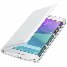 Official Samsung Galaxy Note Edge Flip Wallet Case Cover - White