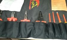 Briefly Used SALISBURY PRO-TOOLS 9-Piece INSULATED TOOL SET Mo. TK9 + Roll-Pouch