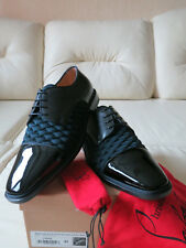 cbb0eca9f Mens Christian Louboutin Bruno Orlato Flat Oxford Shoes 42 Black/blue