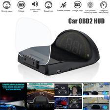 Car OBD2 Hud Head-Up Display w/ Mirror Projection LED Digital Speed Projector