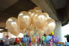 100pcs Colorful Pearl Latex Balloon Celebration  Birthday Party Wedding 10 inch