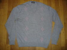 GUY DE BERAC  Pull en laine  col V taille 5 made in France