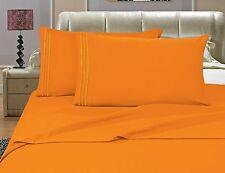 1500 TC Deep Pocket ULTRA SOFT Sheet Set 4 pc Full Queen King Cal King 12 Colors