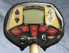 FISHER F4-BLACK CORDURA CONTROL BOX COVER -METAL DETECTOR