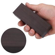 Schwarz Ebenholz Ebony Holz Block Für Gitarren Musikinstrumente 12*4*2.5 CM NEU