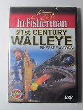 In-Fisherman 21st Century WALLEYE Finesse Factors DVD, fishing Video