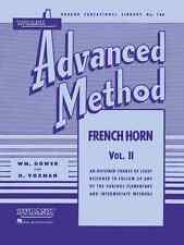 Rubank Advanced Method Volume 2 Music Book French Horn Band Brand New On Sale!