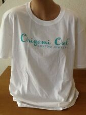 Origami Owl Charms Jewelry White Cotton HOOT Shirt Top XL Dealer Consultant New!