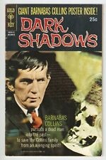 Dark Shadows, # 3, Oct. 1969, Gold Key, Barnabas Collins, W/O Poster, Vg+