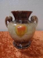 Art Deco Ceramics Glaze Design Vase - Vintage - Handmade - German