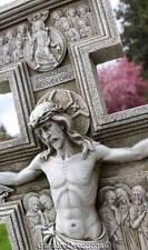 """Incredible 24"""" SAN DAMIANO GARDEN STATUE ALTAR CROSS Memorial NEW!"""
