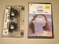 SANDRA - Into A Secret Land - MC Cassette tape /3010