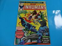 inhumans # 1 issue marvel Comic book Bronze 1st print