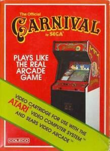 Atari 2600 Video Game Carnival