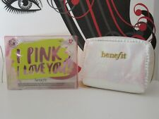 BENEFIT BABY PINK BRIGHTENING KIT FOR COMPLEXION LIP & EYES SEE DETAILS