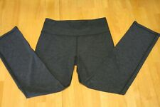 Ladies Soft/Stretchy Charcoal Gray Long Exercise Pants Size (M/8P/10Petite) Avia