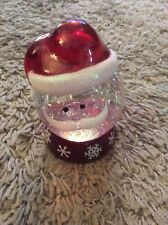 UNBRANDED SANTA LIGHT CHANGING BATTERY OPERATED SNOW GLOBE.
