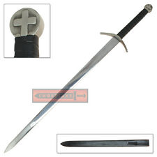 Swiss Knights Templar Sacred Order Crusaders Two Handed Longsword Sword European