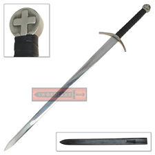 Swiss Knights Templar Sacred Order Crusaders Two Handed Longsword Sword European