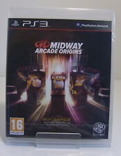 Midway Arcade Origins Playstation 3 PS3 Neu & OVP factory sealed