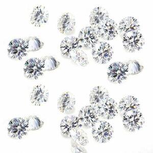 Loose CVD Diamond Lab Grown 2 mm VS2 Clarity g Color 1 Ct. 33 Pcs Lot CVD/HPHT