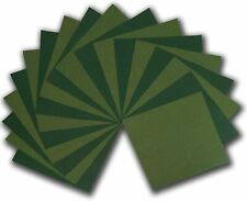 Green and Khaki Color Collection Origami Paper for Leaves and Dragons