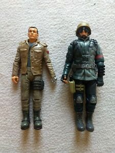 "Terminator Salvation Marcus Wright & John Connor 6"" Figures Playmates Toys 2009"