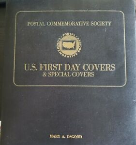 U.S. Stamp Postal Commemorative Society First Day Covers 1978-1980 in binder