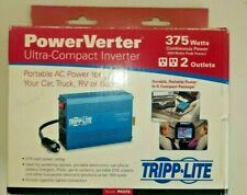 Tripp Lite 375W Power Verter Ultra-Compact Inverter(PV375) RV 2 Outlets Portable
